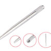 Silver ManualTattoo pen for 3D Eyebrow embroidery, Microblading, hair stroker