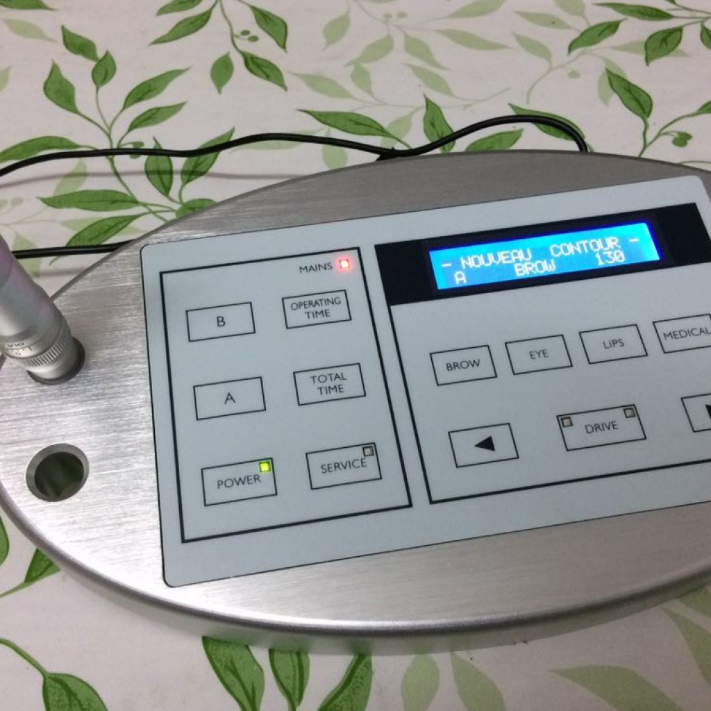 nouveau contour digital permanent makeup machine