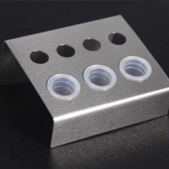 Stainless steel Ink Cups Holder 7 Holes Material: stainless steel Specification: 4 small holes, 2 middle holes, 1 big hole