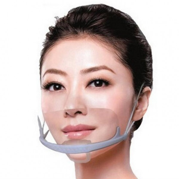 Hygienic Clear Smil Mask for Beauty Salon and Hospital