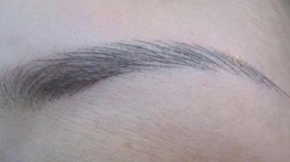 The basic principle of eyebrow should follow