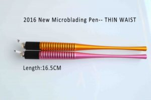 Thin Waist Manial pen for 3D eyebrow microblading