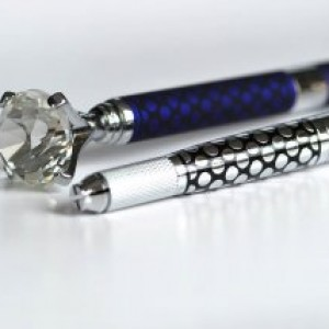 Multi-function Micoblading Pen With Big Diamend