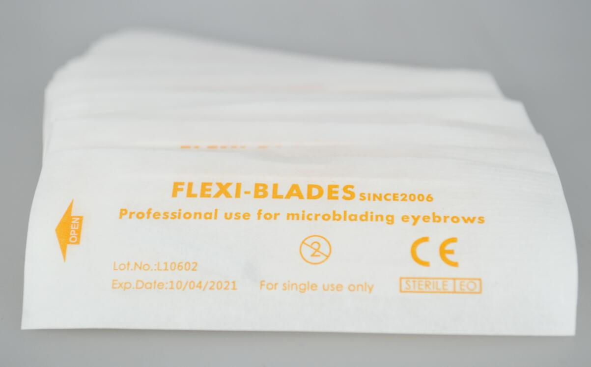 50pcs Microblading blades Hard U16 for 3D Eyebrow Tattoo