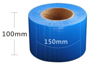 Blue Plastic Protective film roll for permanent & microblading
