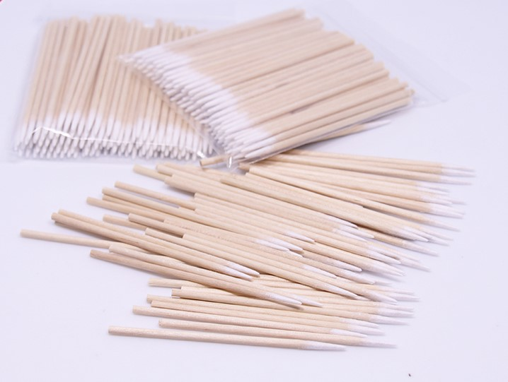 100pcs Disposable Cusp Cotton Swab microblading tattoo tools