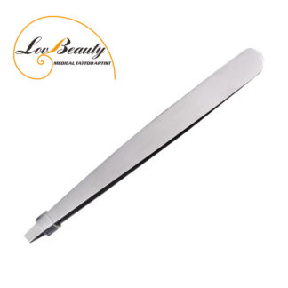 High Quality Stainless Steel Slanted Professinal Eyebrow Tweezers