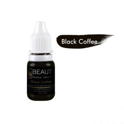Medical Grade micro cream pigment for eyebrow Black Coffee