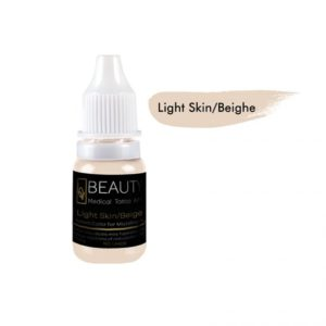 Medical Grade micro cream pigment for eyebrow Light Skin/Beige