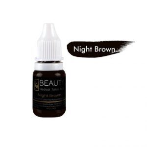 Medical Grade micro cream pigment for eyebrow Night Brown