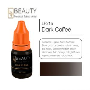 Microblading pigment for permanent makeup Dark coffee
