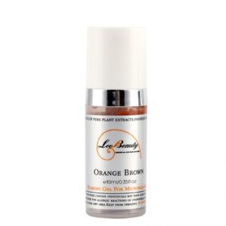 Microblading pigment for permanent makeup Orange Brown