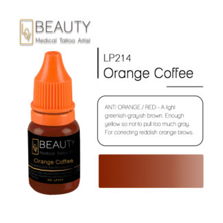 Microblading pigment for permanent makeup Orange coffee