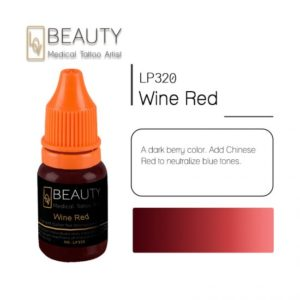 Microblading pigment for permanent makeup WineRed