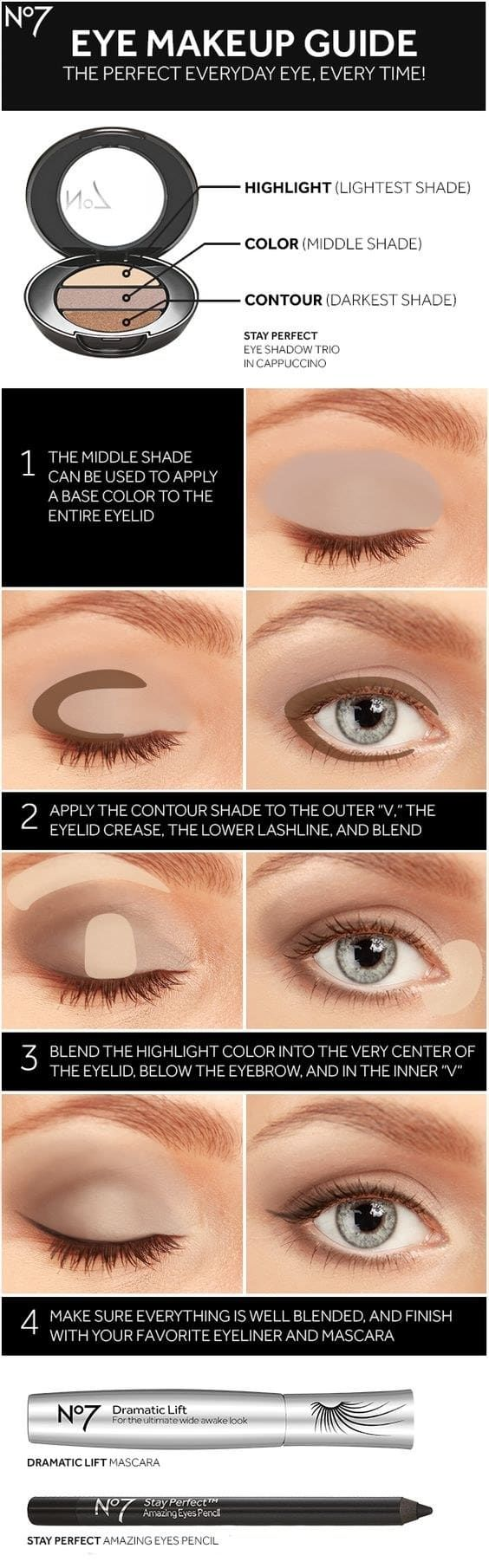 eye makeup guide - 7 ridiculously easy makeup tips that will simplify your life