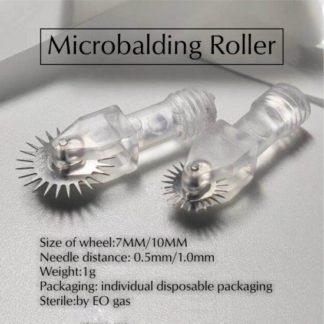 10pc 7MM Microbalding Roller