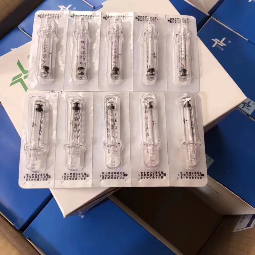 0.3ml disposable ampoule syringe needles for hyaluron pen