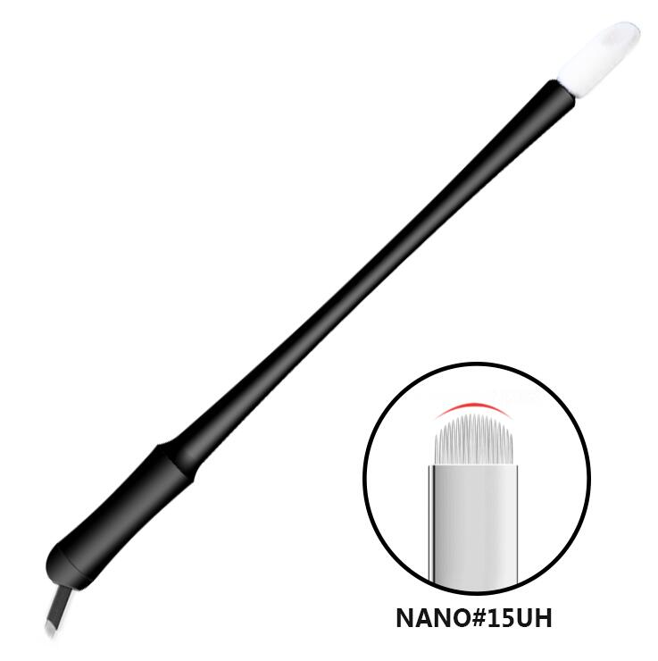 Nano Disposable Microblading pen with Hard U15 blades with brush